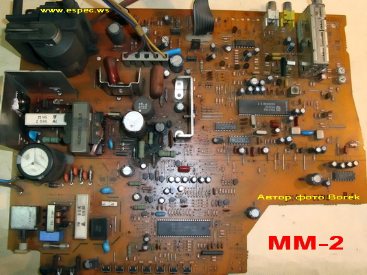 Проц. M37210M3-531SP Схема